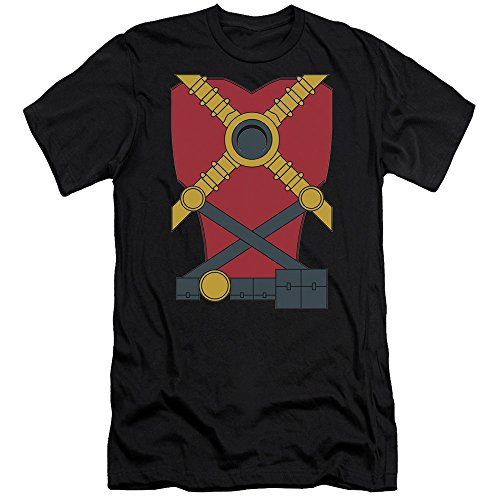 Justice League Of America DC Comics Red Robin Armor Costume Adult Slim T-Shirt