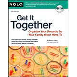Get It Together: Organize Your Records So Your Family Won't Have To (book with CD-Rom) ~ Shae Irving