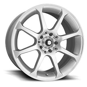 """Eagle Alloys 169 Silver Wheel (17x7.5""""/4x100mm)"""