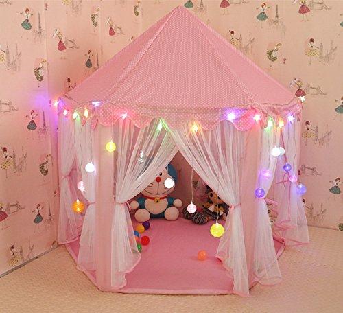 Updated] Kids Indoor Princess Castle Play Tent,55\