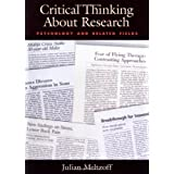 Critical Thinking About Research: Psychology and Related Fields ~ Julian Meltzoff