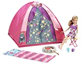 Toy - Barbie Sisters Camp Out Tent and Stacie Doll
