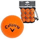 Callaway Orange Soft Flight HX Practice Balls (Pack of 9) - Black