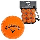 Callaway Orange Soft Flight HX Practice Balls (Pack of 9) - Black