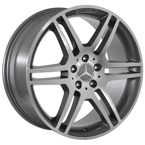 19 Inch Mercedes Wheels Rims Gunmetal (set of
