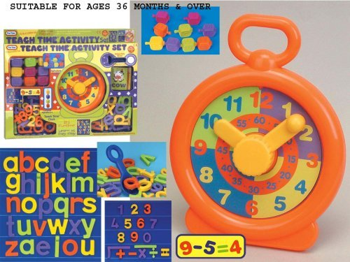 Fun Time 1109 Educational Teach Time Activity Set
