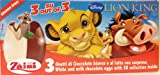 2 Boxes (6 Eggs) Disney Pixar Lion King Chocolate Surprise inside, Free Gift