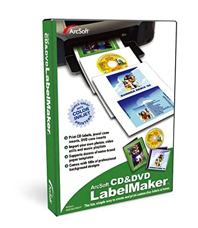 Arcsoft CD and DVD LabelMaker