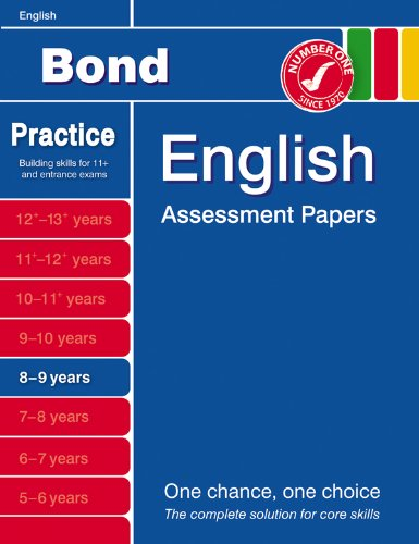 Bond Second Papers in English 8-9 Years