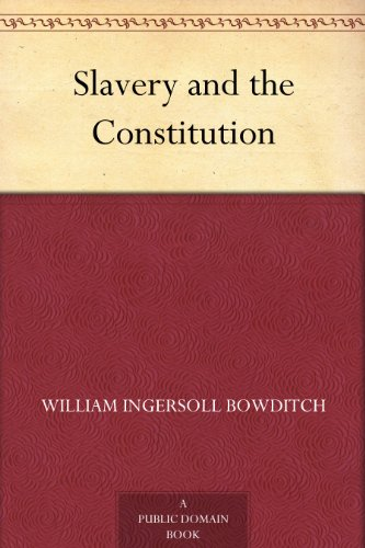 Slavery and the Constitution PDF