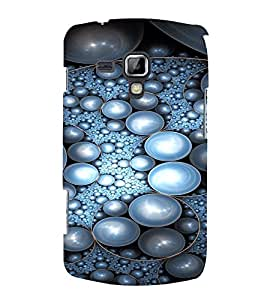 PrintVisa Pearl Design 3D Hard Polycarbonate Designer Back Case Cover for Samsung Galaxy S Duos S7562