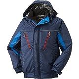 アタックベース ATACK BASE/防寒作業服/裏アルミ防寒ジャケット カラー:ネイビー/02 サイズ:M 品番:585-1