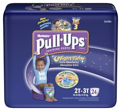 Huggies Pull-Ups Training Pants, Night-Time,