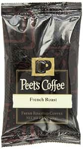Peet's Coffee & Tea French Roast Ground Coffee, 2.5-Ounce Fractional Packs (Pack of 18)