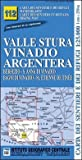Carta n. 112 Valle Stura, Vinadio, Argentera 1
