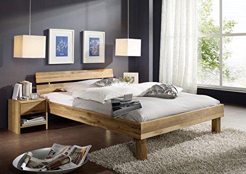 XXS-Campino-Holzbett-180-x-200-cm-in-Wildeiche-massives-Bett-in-natrlichem-Design-hohes-geteiltes-Kopfteil-fr-Leseabende-zeitloses-Buchenbett-fr-Ihr-Schlafzimmer