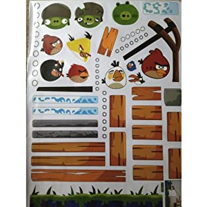 Angry Bird Game Wall Sticker Decal for Baby Nursery Kids Room