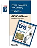 From Colonies to Country: Elementary Grades Teaching Guide A History of US Book 3 (019516850X) by Hakim, Joy