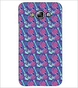 PrintDhaba Pattern D-5331 Back Case Cover for SAMSUNG GALAXY A8 (Multi-Coloured)