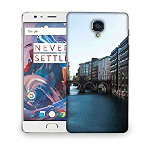 Snoogg Lake View City Designer Protective Phone Back Case Cover For OnePlus 3