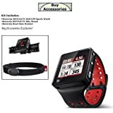 Motorola MOTOACTV 8GB GPS Sports Watch and MP3 Player - Biking Kit!