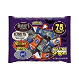 Hersheys Snack Size Assortment (Hersheys, Reeses & York Peppermint Patties), 75 Piece, 38.27 Ounce Bag