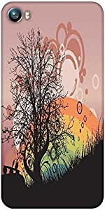 Snoogg abstract illustration Designer Protective Back Case Cover For Micromax Canvas Fire 4 A107