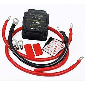 140 amp dual battery isolator atv utv wiring. Black Bedroom Furniture Sets. Home Design Ideas