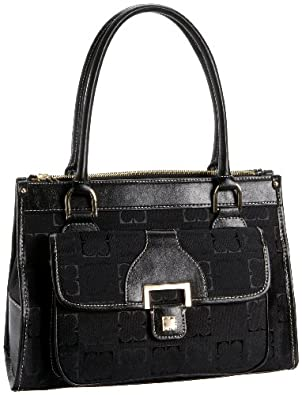 Liz Claiborne Heritage Shopper,Black,one size