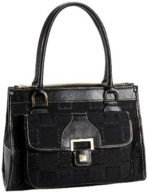 Liz Claiborne Heritage Shopper,Black,one size
