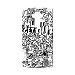 G-STAR Designer Printed Back case cover for OPPO F1 - G2521