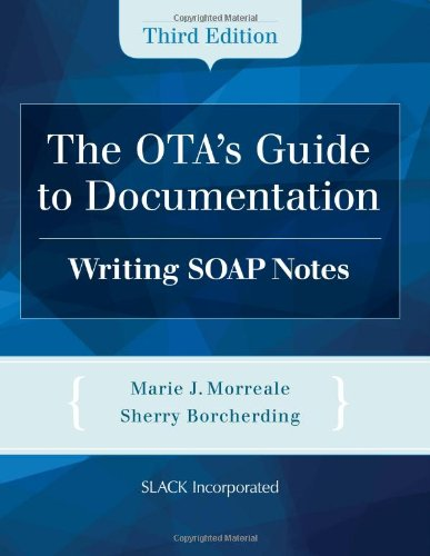 the otas guide to documentation writing soap notes malaysia online bookstore