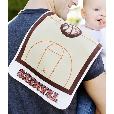 Teamees bkbc Slam Dunk Basketball Burp Cloth