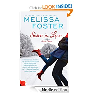 Sisters in Love (Snow Sisters, Book One; Love in Bloom Series), Contemporary Romance