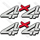 Chevy Chevrolet 4x4 Off Road Decal Sticker Offroad Truck Decals Grey Red