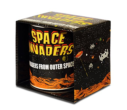 Space Invaders Coffee Mug - Nerd Boxed Mug -