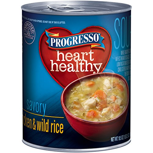 Progresso Reduced Sodium Soup, Chicken and Wild Rice, 18.5-Ounce Cans (Pack of 12) (Chicken Wild Rice Soup compare prices)