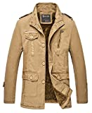 Mr.Freeman Mens Casual Cotton Lightweight Jackets For Fall-Winter [Apparel]