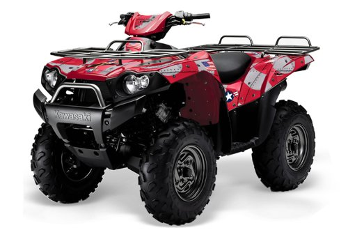 AMR Racing 2004 - 2011 Kawasaki Brute Force 750, 750i ATV Quad, Graphic Kit -...