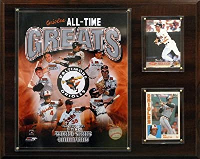 MLB Baltimore Orioles All -Time Great Photo Plaque
