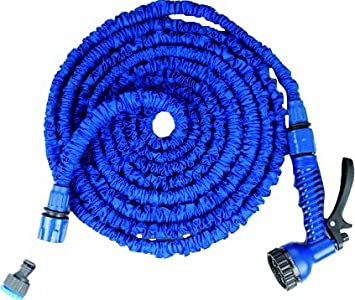 75 Feet Expandable Garden Hose Spray Nozzle Combo Best Water