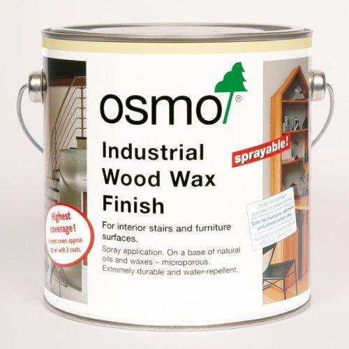 Osmo 3064 Industrial Wood Wax Finish Clear Matt 2.5L