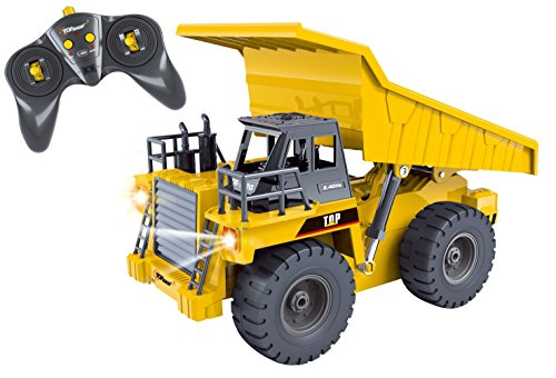 Top-Race-6-Channel-Full-Functional-Dump-Truck-RC-Remote-Control-Construction-Dump-Truck-with-Lights-Sounds-24Ghz-TR-112G