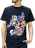 (スプラトゥーン) Splatoon Tシャツ メンズ ブランド 半袖 ロゴ キャラクター プリント 8color LL 柄8