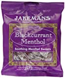 Jakemans Blackcurrant Menthol Sweets 100g - 10 packs (1,000g)