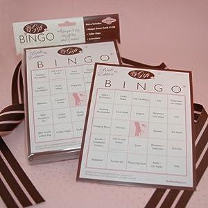 Wedding Gift Ideas Amazon : Amazon.com : Bridal Shower Gift Bingo (For 50 Guests) : Bingo ...