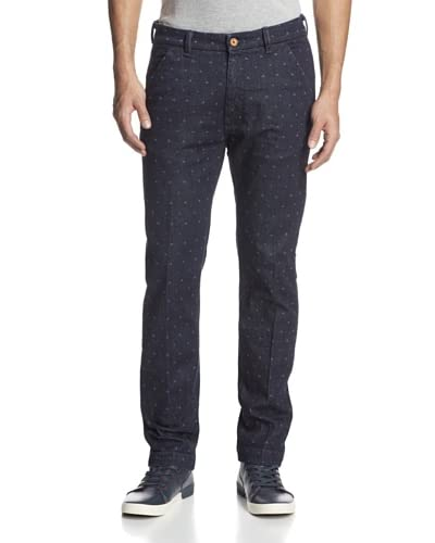Levi's Made & Crafted Men's Spoke Slim Fit Patterned Chino