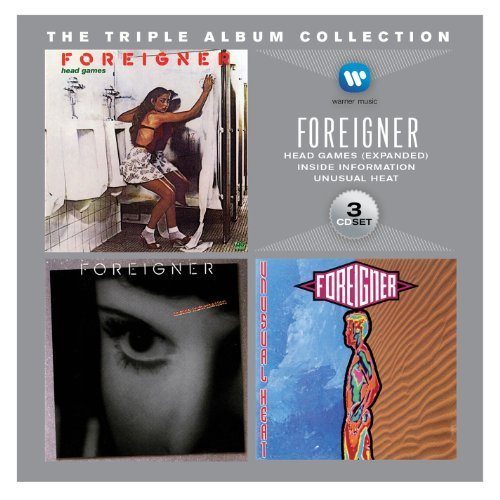 Triple Album Collection by FOREIGNER (2013-05-04)