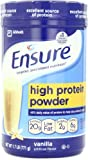 Ensure High Protein Powder, Vanilla, 1.7-Pound, 19 Servings