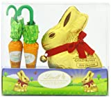 Lindt Gold Bunny and Carrots 140 g (Pack of 2, Total 20 Chocolates)